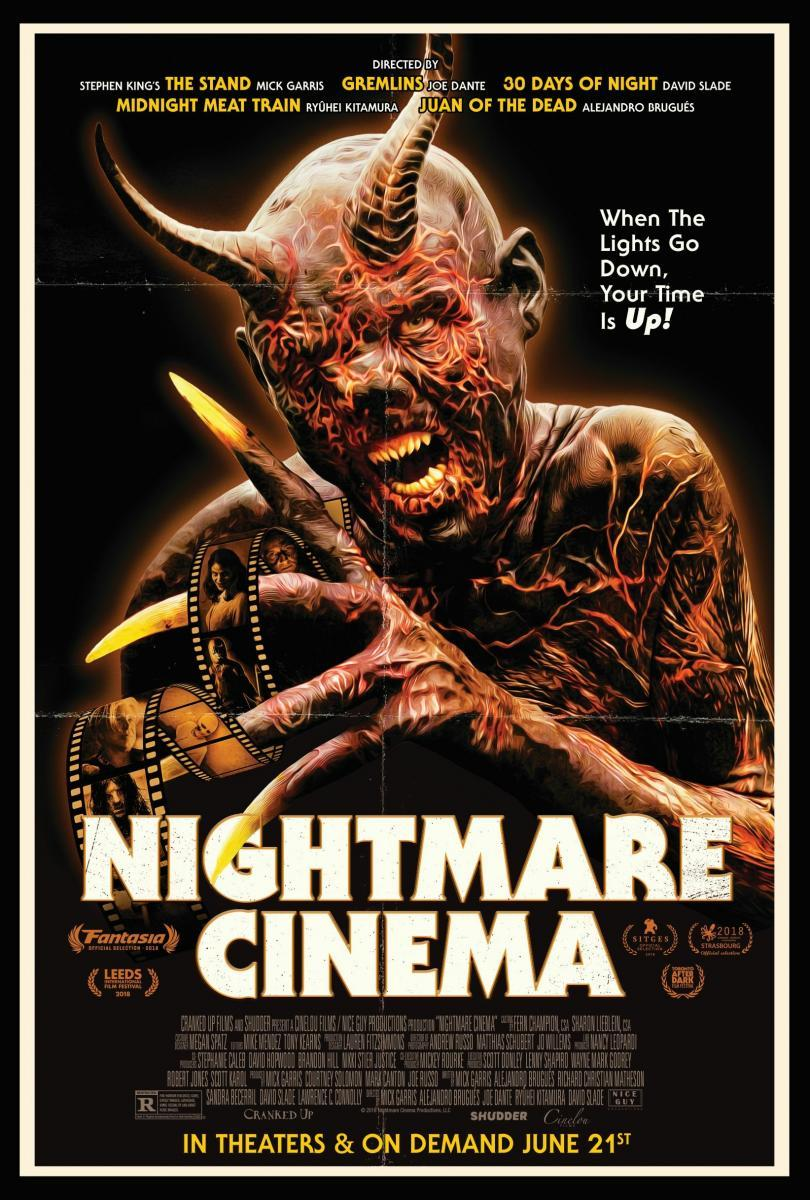 Póster de 'Nightmare Cinema'.