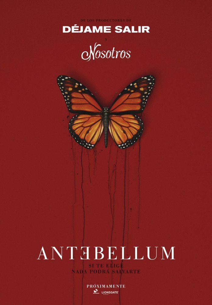 Teaser póster de 'Antebellum'.