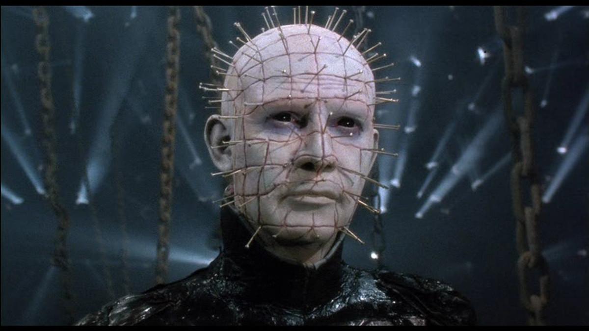 Pinhead es uno de los personajes más populares del cine de terror.