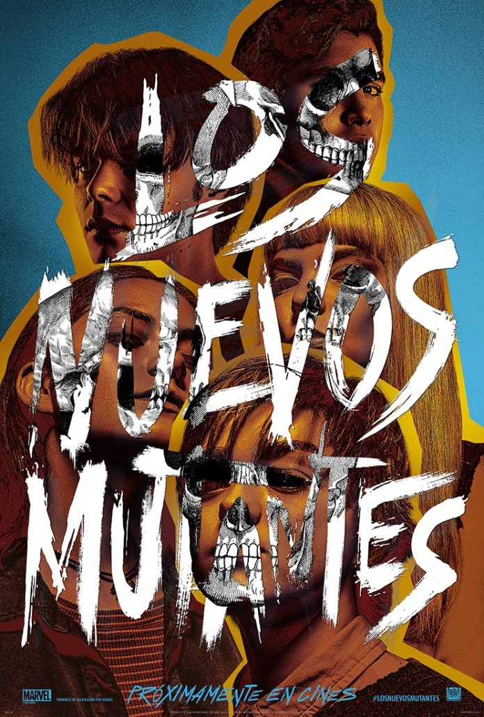 Póster 'Los Nuevos Mutantes', de Josh Boone.