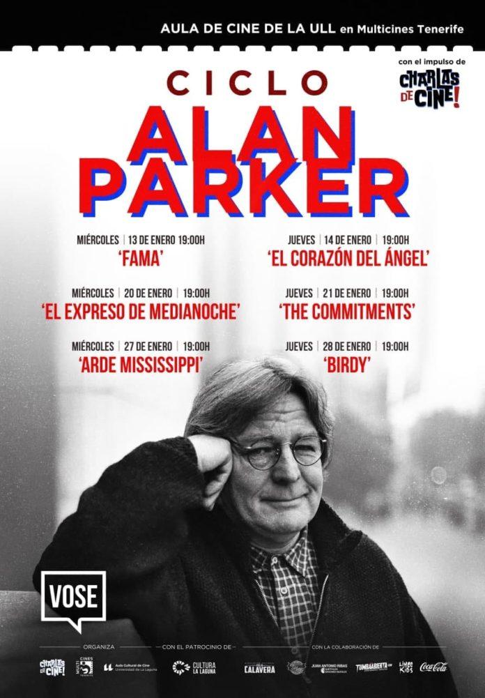 Cartel ciclo Alan Parker del Aula de Cine de la ULL