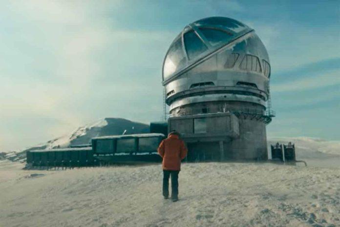 Cielo de Medianoche. Observatorio Astrofísico del Roque de los Muchachos.