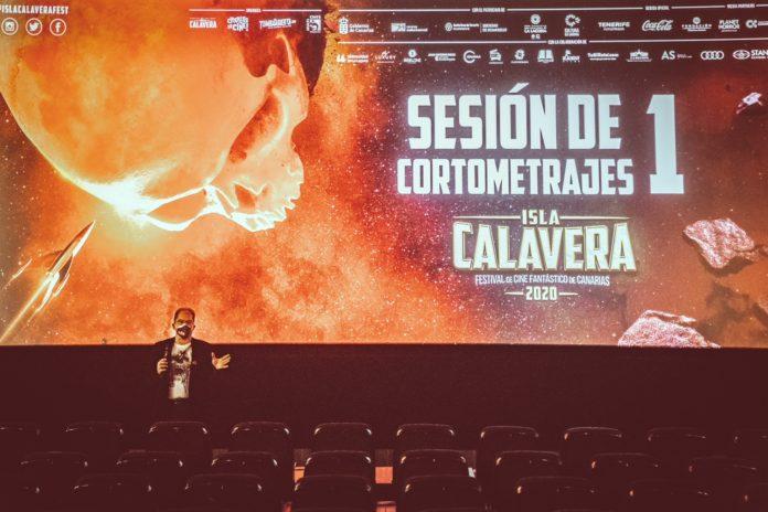 Manuel García de Mesa presenta una de las sesiones de cortometrajes del Festival Isla Calavera 2020.