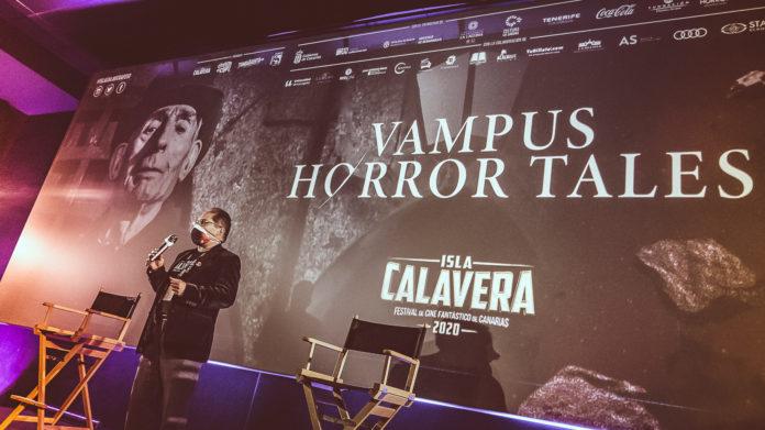 Manuel García de Mesa presenta la proyección de Vampus Horror Tales.