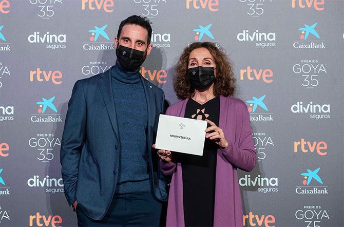 Daniel Rovira y Ana Belén. Fotos: ©Alberto Ortega – Cortesía de la Academia de Cine