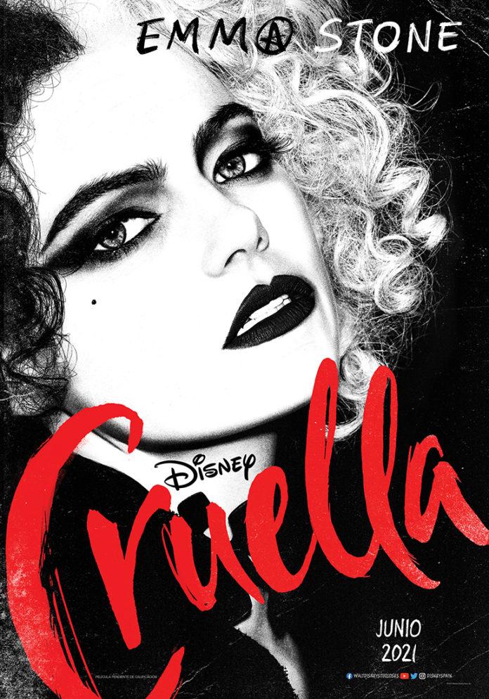 Póster de Cruella, de Craig Gillespie.