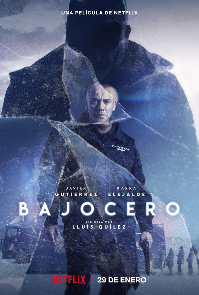 Póster de Bajocero. Netflix.