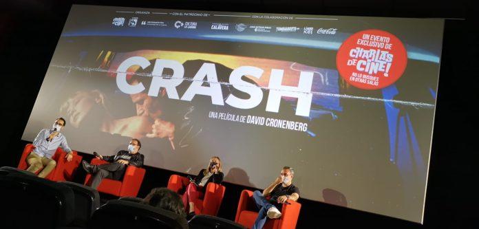 Evento especial Charlas de Cine dedicado a 'Crash, de David Cronenberg..