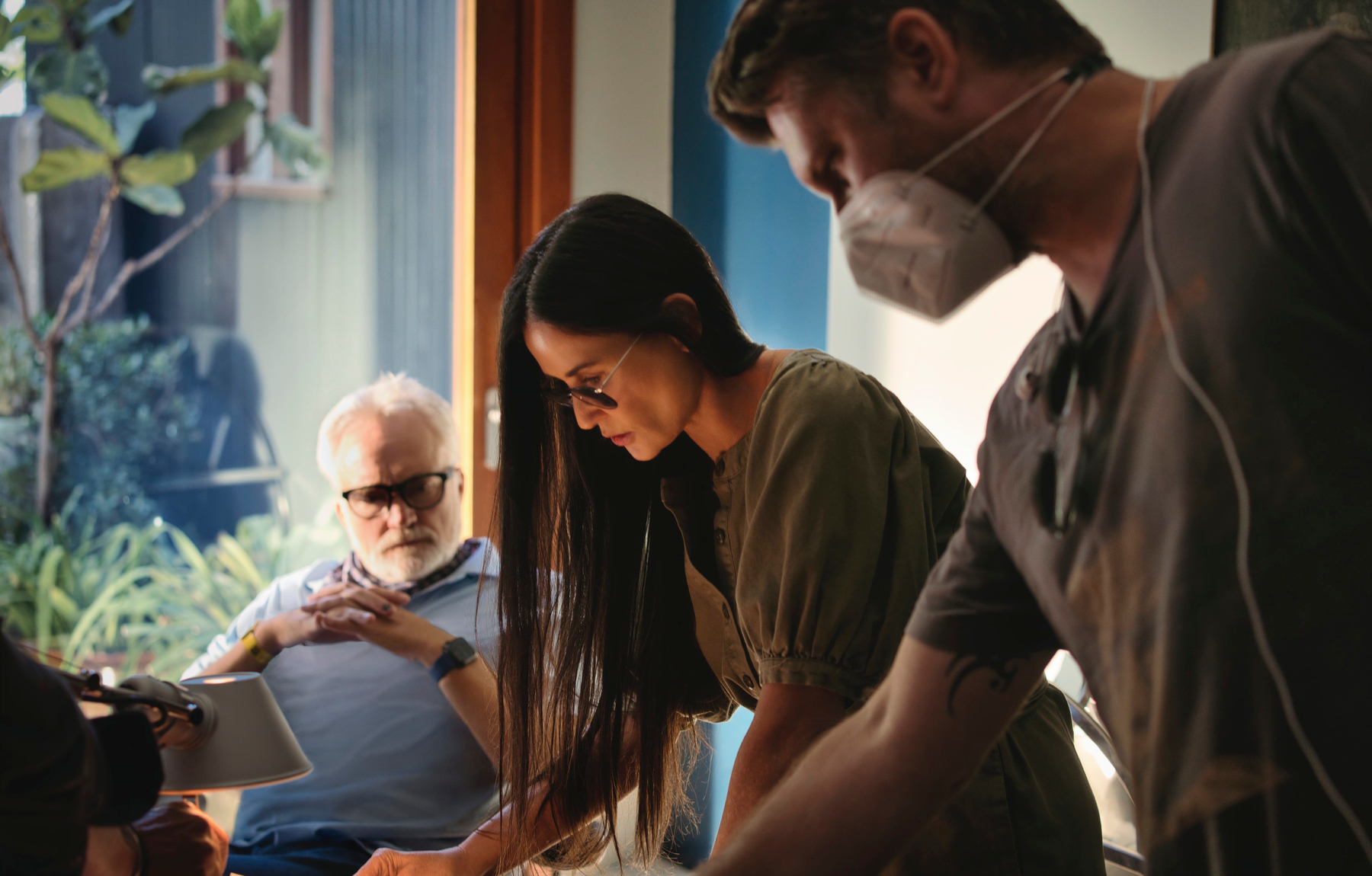 Demi Moore forma parte del reparto de 'Inmune', ambientada en el año 2024.