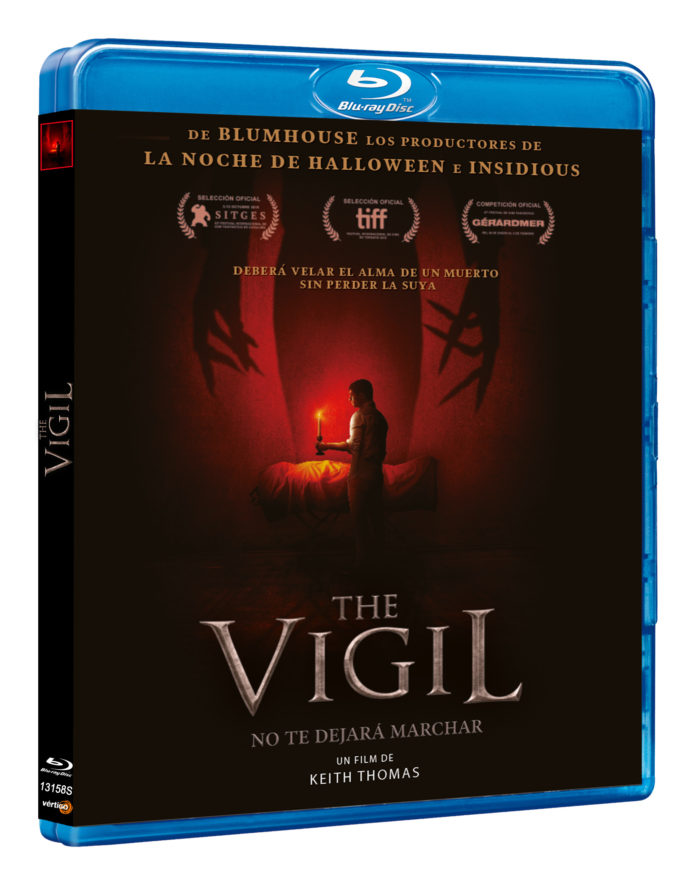 Blu-Ray de The Vigil.