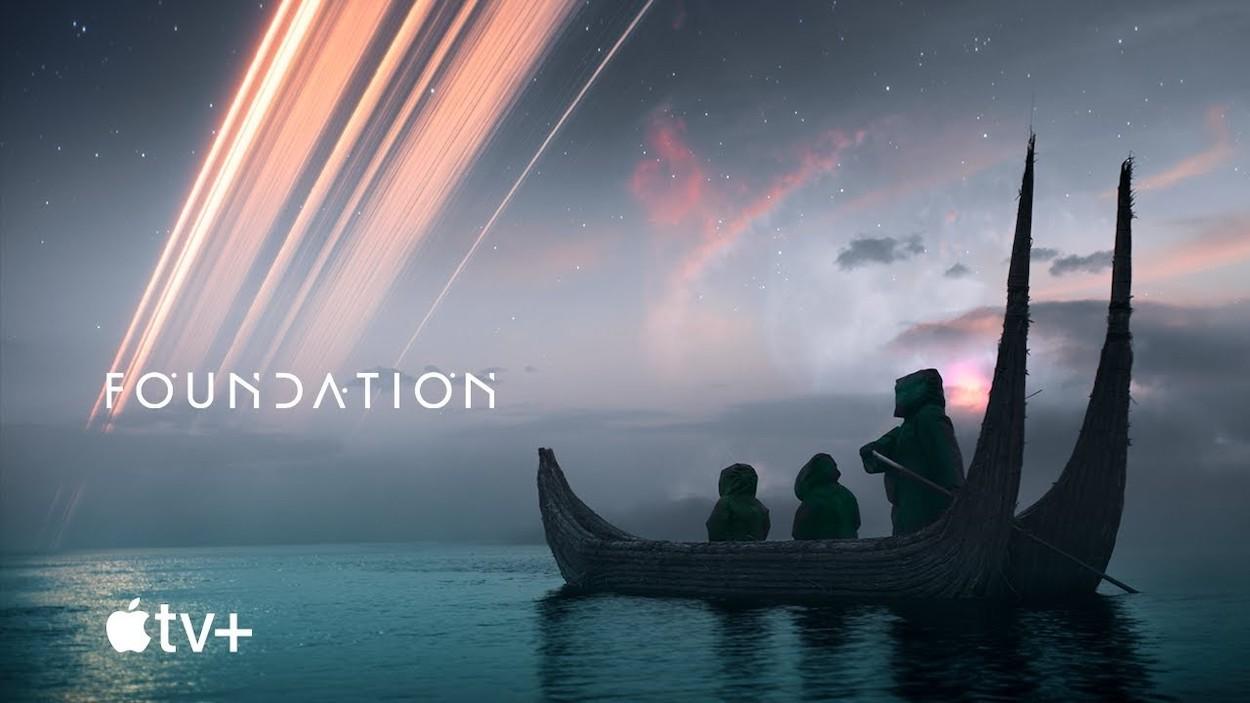 Foundation, una serie de ciencia ficción de Apple TV+.