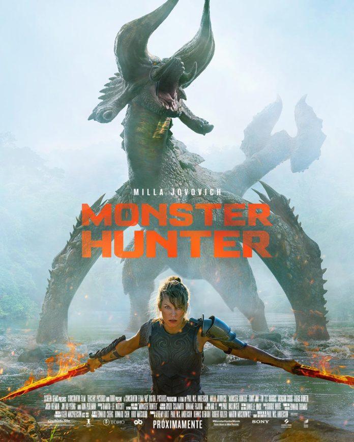 Póster de 'Monster Hunter', de Paul W. S. Anderson.