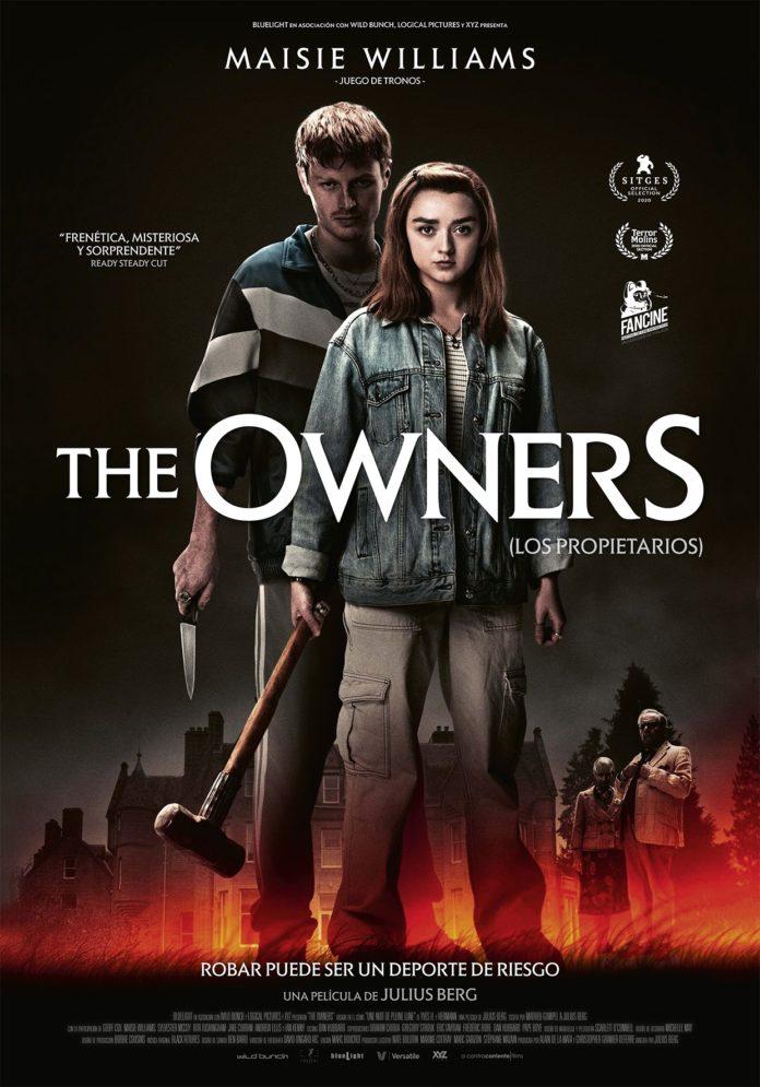Póster de The owners (Los propietarios), de Julius Berg.