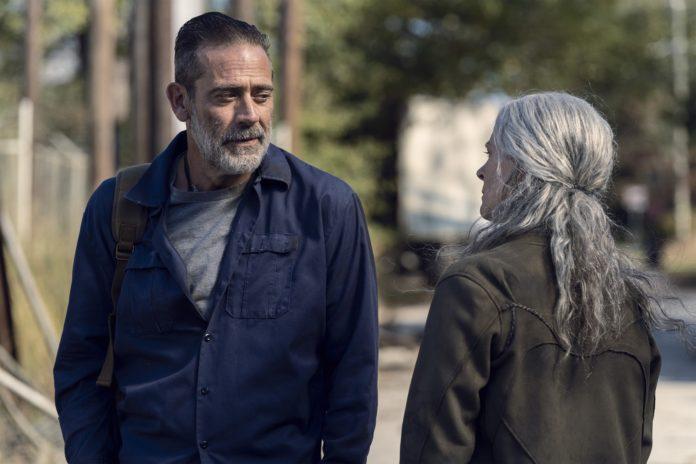 Jeffrey Dean Morgan es Negan en The Walking Dead.