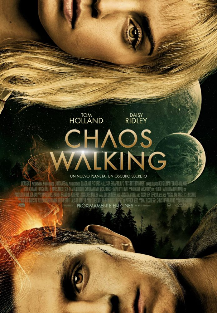 Cartel de Chaos Walking, de Doug Liman.