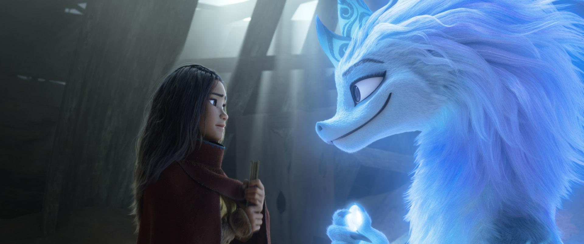 'Raya y el último dragón'. Disney