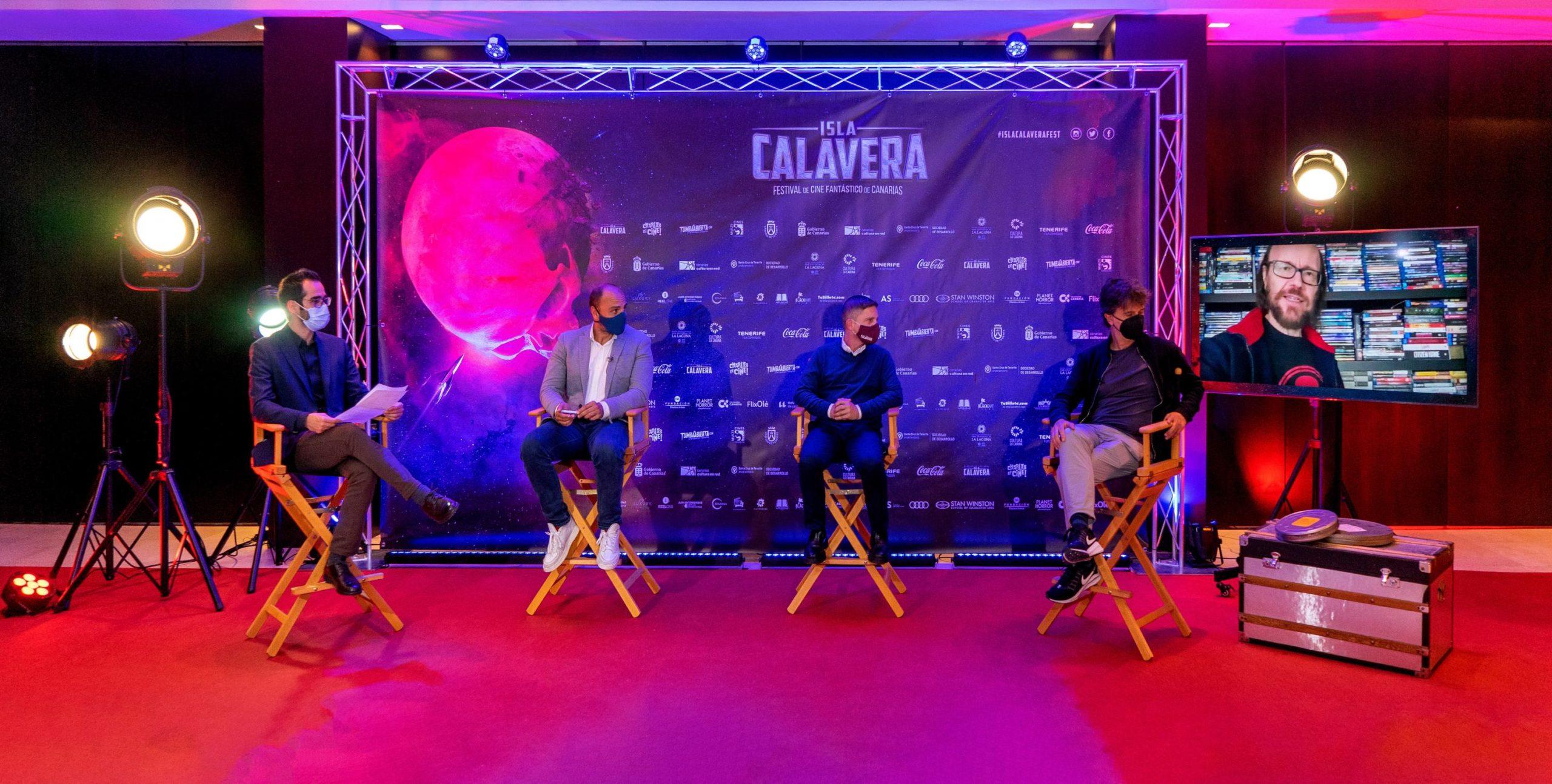 El II Encuentro de Industria del Festival Isla Calavera contó con la participación de grandes nombres como Santiago Segura.