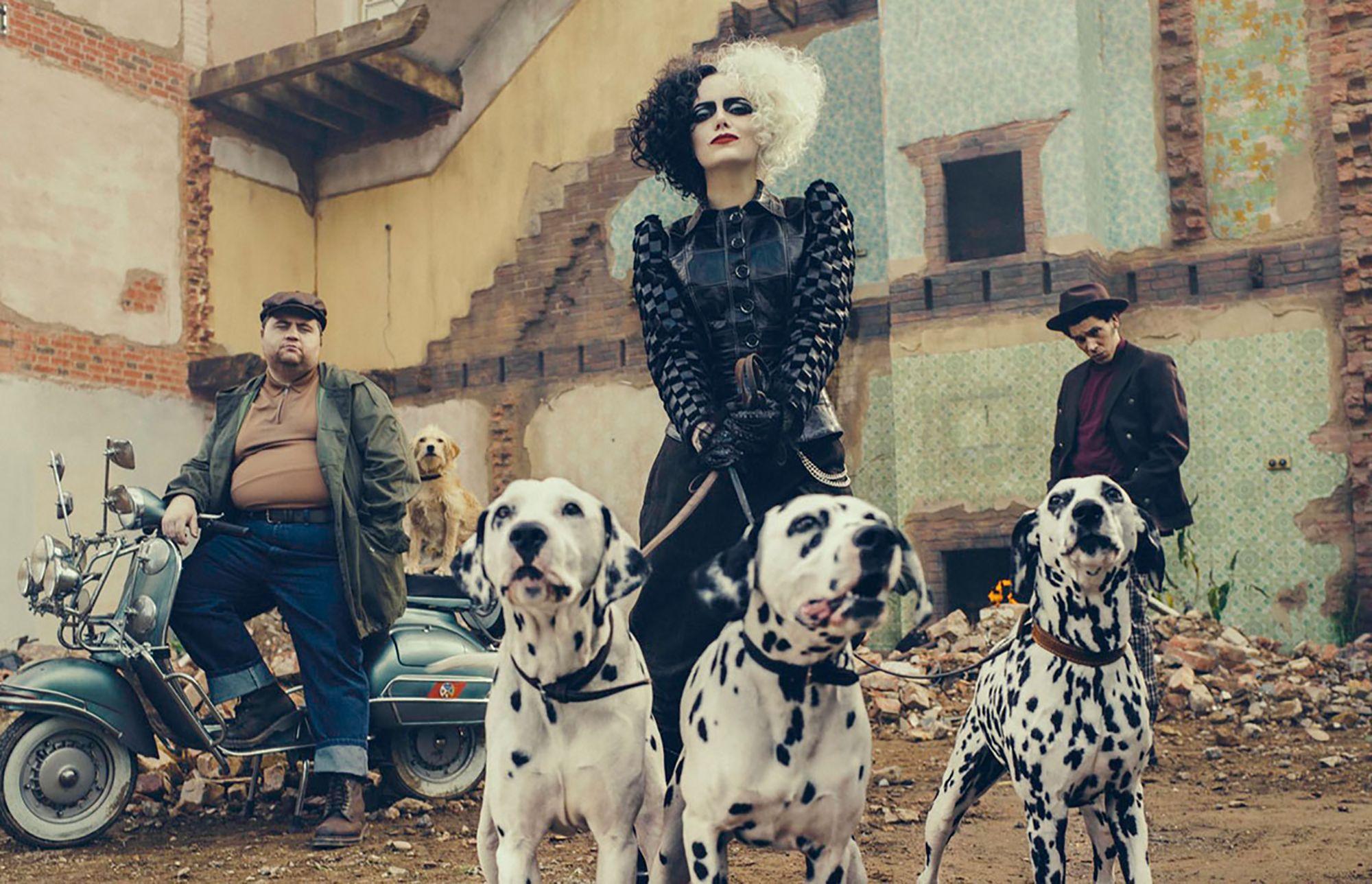 Emma Stone es Cruella, en el nuevo largometraje de acción real sobre la villana Disney.