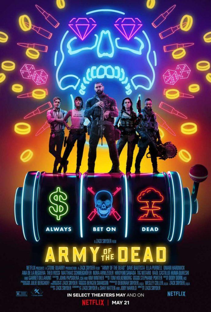 Ejército de los muertos, de Zack Snyder.