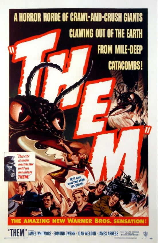 La humanidad en peligro (Them!, EEUU, 1954)
