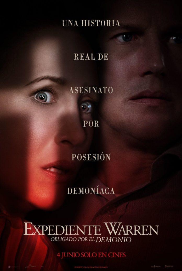 Cartel de 'Expediente Warren: Obligado por el demonio'