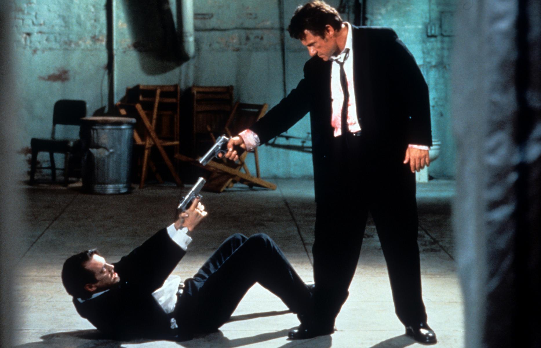Reservoir Dogs dejó fotogramas icónicos para la historia del cine.