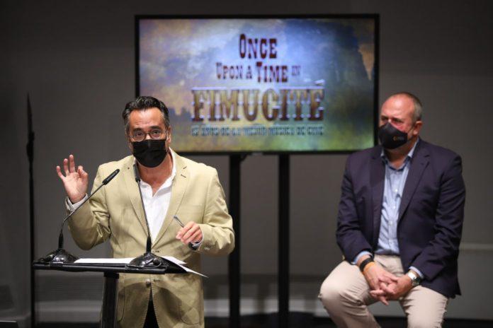 El director de FIMUCITÉ Diego Navarro presentó la programación de la 15ª edición en rueda de prensa.
