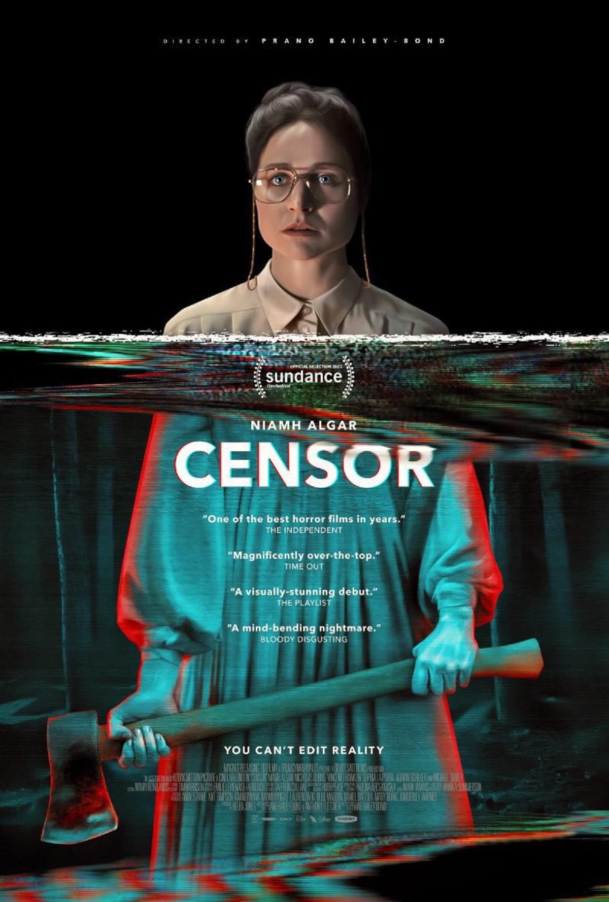 Cartel de 'Censor', de Prano Bailey-Bond.