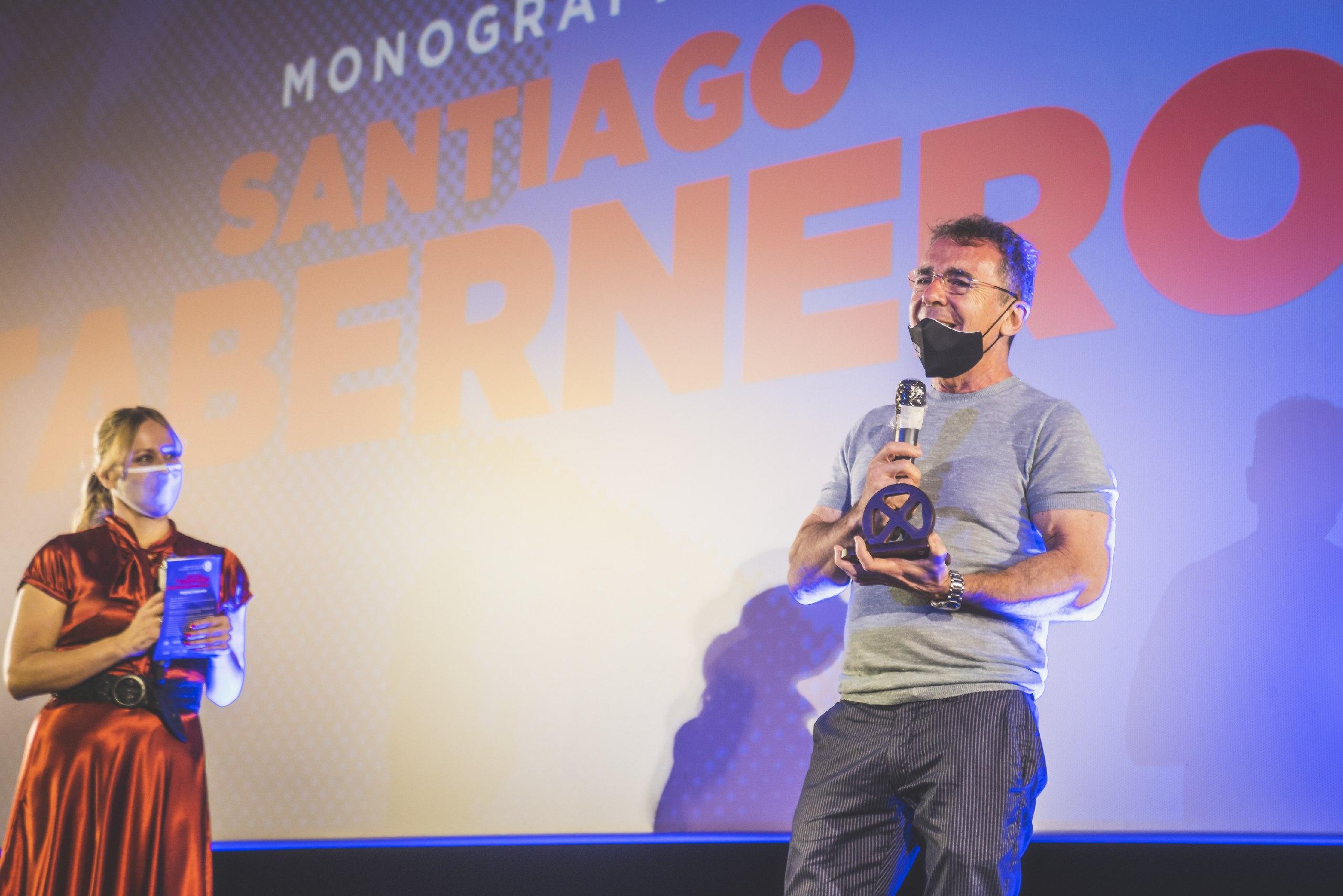 Santiago Tabernero, Premio de Honor de la I Muestra de Cine Español de Tenerife.