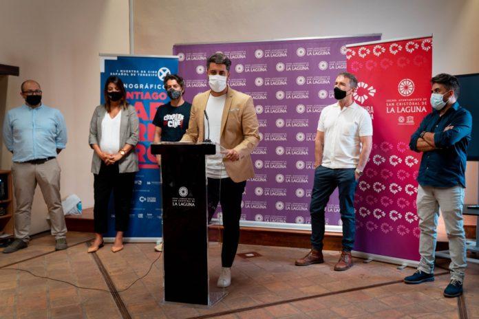 Rueda de prensa de presentación de invitados de la I Muestra de Cine Español de Tenerife.