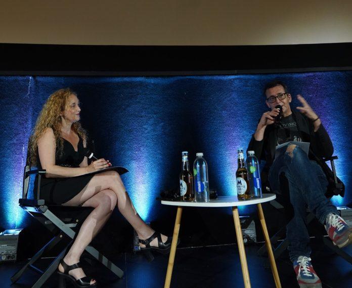 Rueda de prensa del 54º Sitges – Festival Internacional de Cinema Fantàstic de Catalunya, con Mònica Garcia, directora de la Fundación Sitges, y Ángel Sala, director del Festiva.