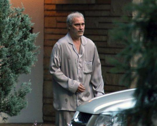 Joaquin Phoenix, en rodaje de Dissapointment Blvd.