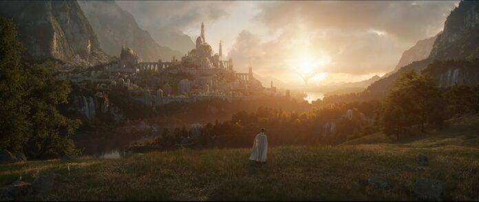 Amazon Studios publica la primera imagen de la serie a la vez que concluye el rodaje en Nueva Zelanda.