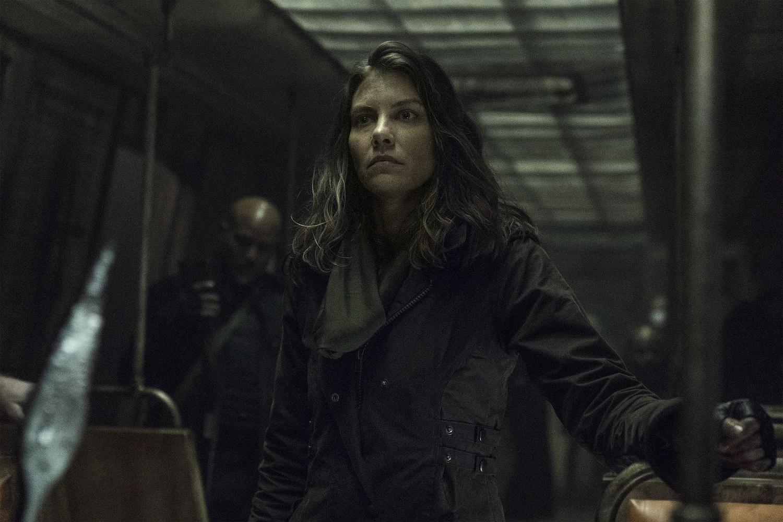 Lauren Cohan es Maggie en The Walking Dead.