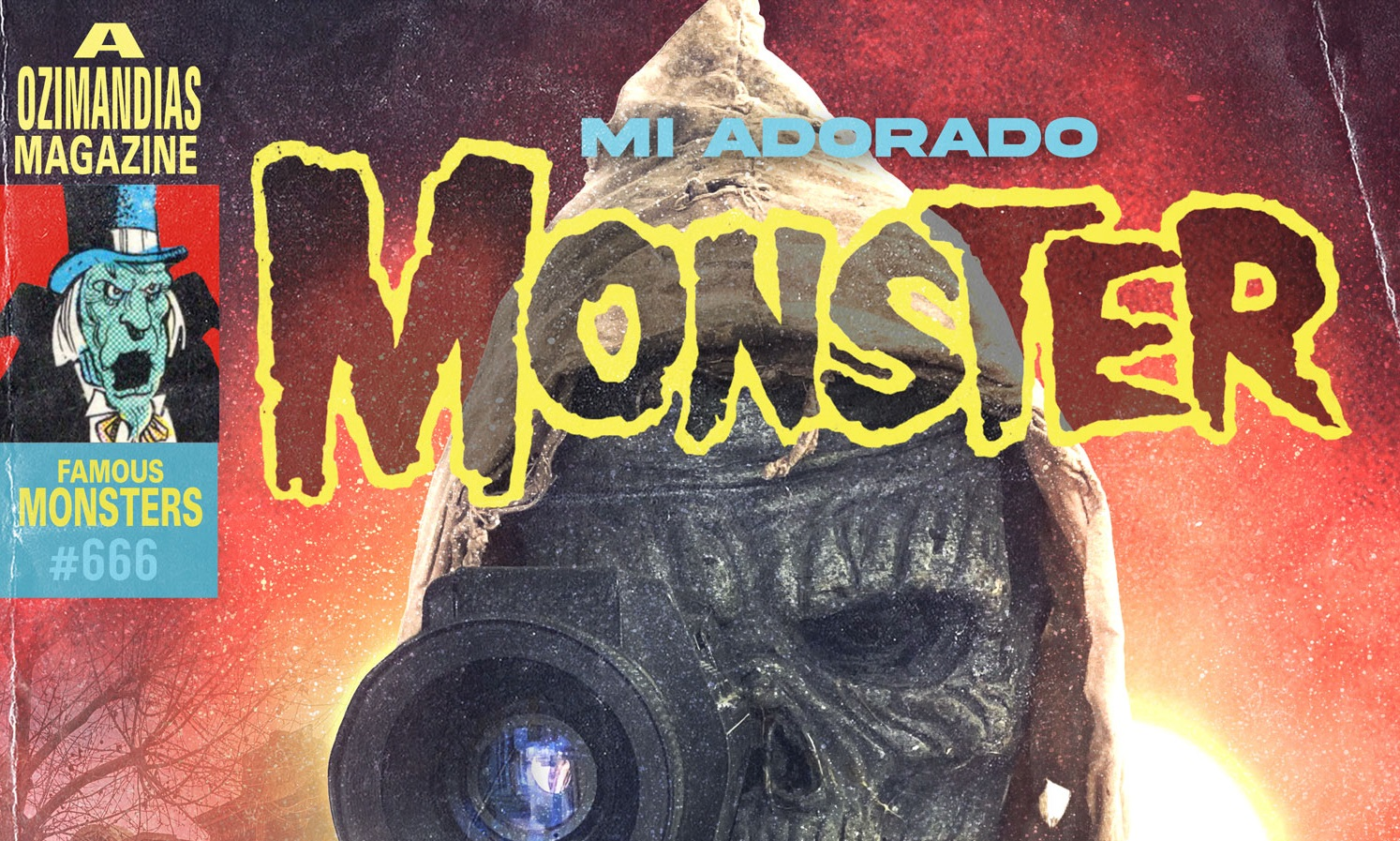 Detalle del póster del documental 'Mi adorado Monster', de Víctor Matellano.