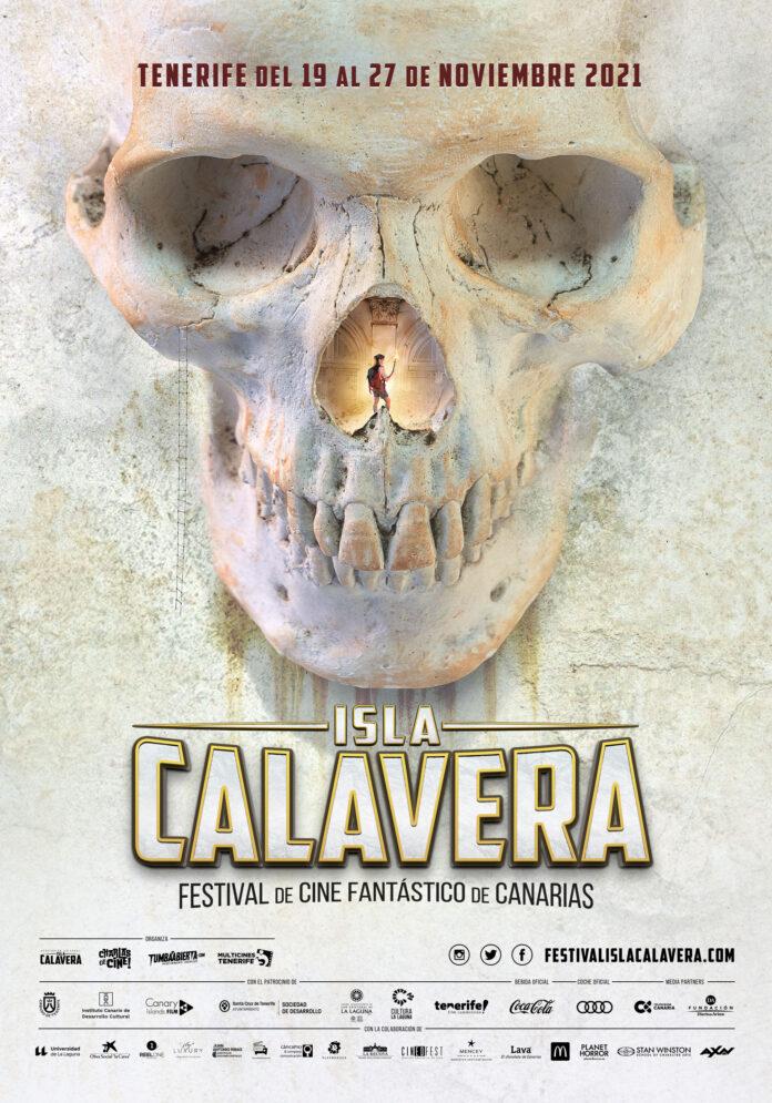Cartel oficial del Festival Isla Calavera 2021.